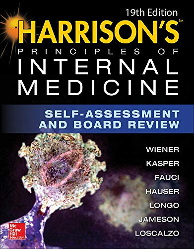 Harrison's Principles of Internal Medicine Self-Assessment and Board Review, 19th Edition