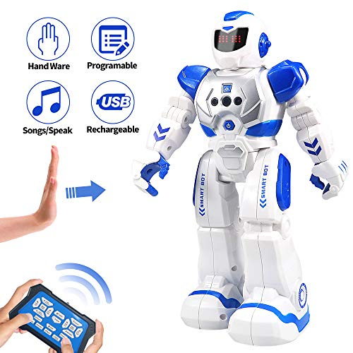 Cargooy Best Gift for Kids ,Intelligent Programmable RC Robot with Infrared Controller...
