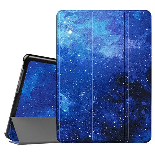 Fintie Huawei Mediapad T3 10 Hülle Case - Ultra Dünn Superleicht Flip Schutzhülle mit Zwei Einstellbarem Standfunktion für Huawei MediaPad T3 (9,6 Zoll) 24,3 cm Tablet-PC, Sternenhimmel