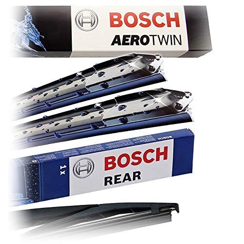 Set Bosch Wischer Wischerblatt Wischerblätter Scheibenwischer Scheibenwischerblätter Aerotwin Retrofit Nachrüstset AR502S + Heckwischer Heckwischerblatt Heckscheibenwischer H402
