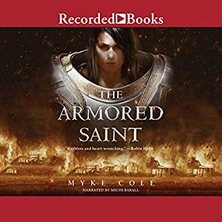 The Armored Saint audiobook cover art