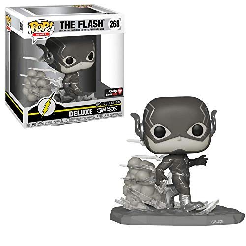FUNKO POP THE FLASH 268 GAME STOP DC COLLECTION DELUXE BY JIM LEE