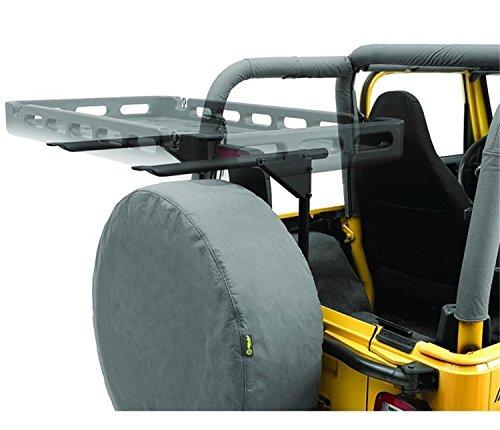 Bestop 4141101 Tailgate Rack Bracket System for 1987-2006 Wrangler
