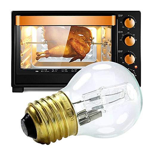 Godya E27 40W Luz Blanca cálida Resistente al Calor Lámpara de Bombilla de Cocina de Horno Blanco cálido 110-250V 500 ° C