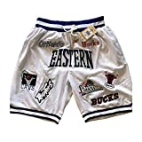 ZXZXING Shorts de Baloncesto Lakers Bulls Grizzlies Warriors Heat Shorts Shorts Deportivos para Hombres y...