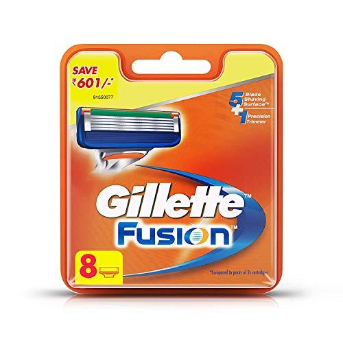 Gillette Fusion Manual Shaving Razor Blades - 8s Pack (Cartridge)