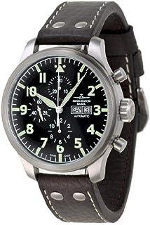 Zeno - Watch Reloj Mujer - Oversized Pilot Oversized Chrono Navigator - 8557TVDDN-a1