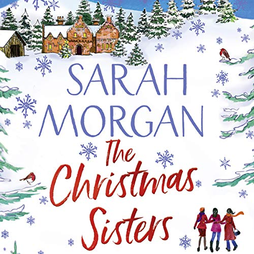 The Christmas Sisters audiobook cover art