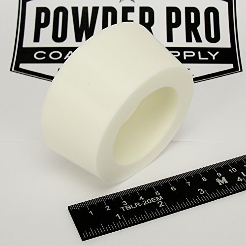 """(1) 3"""" x 3.5"""" #14 High Temp Silicone Rubber Powder Coating Paint Masking Plug - Great for Customizing YETI, RTIC, Ozark Cups and Tumblers"""