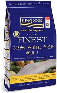フィッシュ4ドッグ ドッグフード オーシャンホワイトフィッシュ ファイネスト 小粒 タラ 6kg