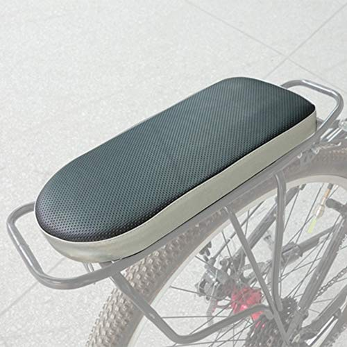ASPIRER Cuscino Posteriore per Bicicletta,Posteriore Sedile Cuscino per Bambini,PU Spugna in Pelle...