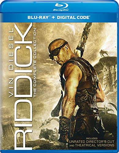 RIDDICK: THE COMPLETE CL W/2013 BD WS [Blu-ray]
