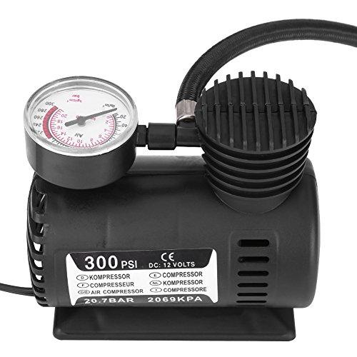 acouto 12V 300PSI portatile Not Mini compressore d' aria del motore/pompa del motociclo Pneumatico Infaltor