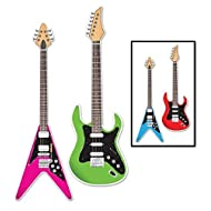Guitar Cutouts, 3-feet - 1 Pack
