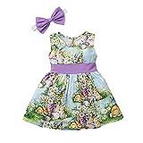 Easter Dresses for Baby Girls, Toddler Girls Sleeveless...