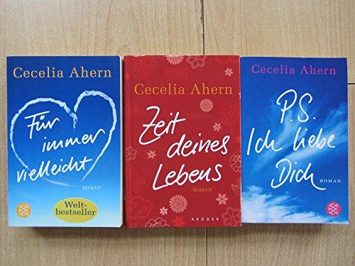 Paket Cecelia Ahern: Für immer vielleicht. Zeit deines Lebens. P.S. Ich liebe Dich. (3 Bücher)!