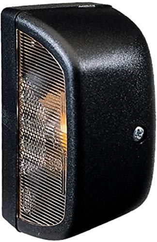 HELLA 2KA 998 523-001 Kennzeichenleuchte, mit Kennzeichenlicht, Anbau links/rechts, R10W, 12 V