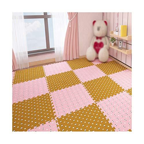 Best Deals! MAHFEI Foam Interlocking Floor Mats Puzzle Pad Living Room Baby Crawling Floor Protectio...