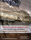 Corrélations en mécanique des sols