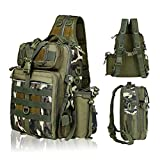 BLISSWILL Fishing Backpack Outdoor Tackle Bag Large Fishing Tackle Bag Water-Resistant Fishing Backpack