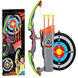 Children's Bow and Arrow Toy Shooting Archery with Suction Cup (881-24B (English Version))