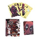 Paladone- BARAJA DE Cartas Marvel Deadpool, Multicolor (PP5168DPL)