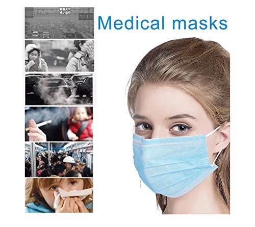 CQLK 50pcs Filtermasken 3 Schichten Der Medizinischen Pflege Chirurgie Atmungs Medizinische Staub- Antibakterielle Masken Bequem Atmungs Schönheit