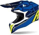 Airoh Helmet Wraap Mood Blue Gloss/M18, M