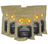 A.C. Legg Blend 10 Pork Sausage Seasoning, 5 Packs - 8 Ounce each