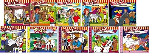 Bibi & Tina - Hörspiel zur Zeichentrick TV-Serie - CD 1-10 im Set - Deutsche Originalware [10 CDs]
