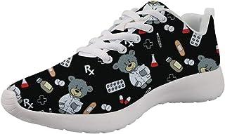 Woisttop Donna Uomo Running Sneaker Scarpe Sportive Scarpe da Ginnastica per Studenti Universitari Outdoor Walking Flats