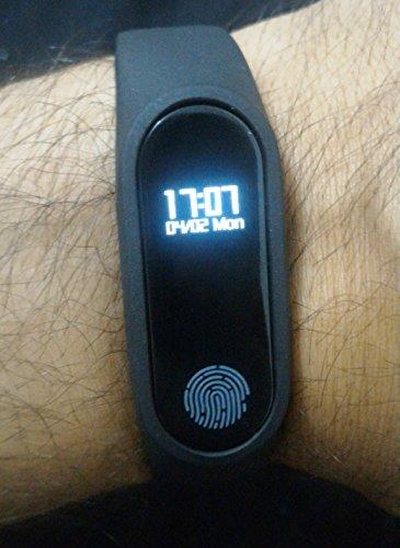 Pulseira Medidor Cardíaco Bracelete Smart M2 Bluetooth