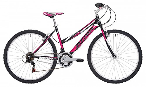 Atala Mountain Bike da Donna Sunrise 2017 18V 26' Nero/Fuxia