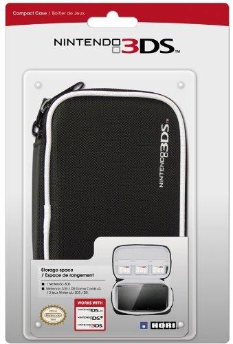 Hori Officially Licensed Compact Pouch - Black (Nintendo 3DS/DSi/DSL) [Edizione: Regno Unito]