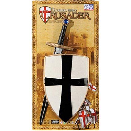 Ritter-Set für Kinder: Schild und Schwert