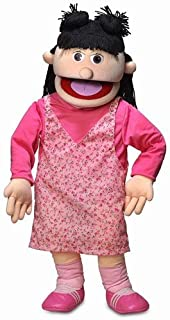 """Silly Puppets 30"""" Susie, Peach Girl, Professional Performance Puppet with Removable Legs, Full or Half Body"""
