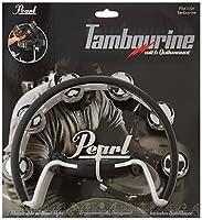 Pearl PTM10SH Quick Draw Tambourine [並行輸入品]