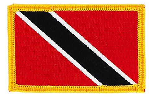 Aufnäher Patch bestickt, Flagge trinidad & tobago trinidad zum Aufbügeln