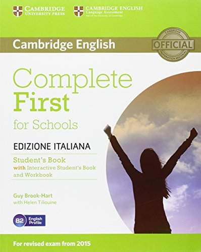 Complete First Schools. Student's Book without Answers. Interactive Book [Lingua inglese]