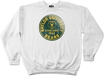 NCAA Baylor Bears 50//50 Blended 8-Ounce Vintage Arch Crewneck Sweatshirt