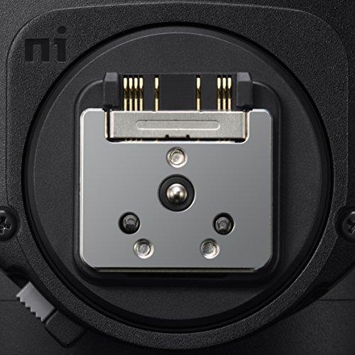 Sony HVL-F60RM Hochgeschwindigkeitsblitz (mit Funkempfänger/-bedienung, integrierter Wireless Sender und Receiver) schwarz