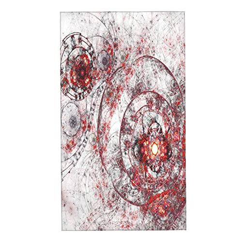 COFEIYISI Juegos de Toallas Arte Fractal Moderno Obra Abstracto Steampunk Mecanismo de relojería Toallas de Mano multipropósito para baño,Manos,Cara,Gimnasio y SPA Absorbente Suave 40x70cm