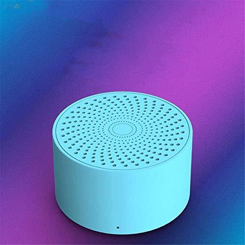 Nakelu Stimme Bluetooth Lautsprecher intelligente ai Stimme künstlichen Mini-Stereo-Geschenk (Color : C)