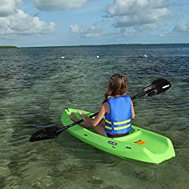 Youth Wave Kayak (With Paddle) Color: Lime Green 9