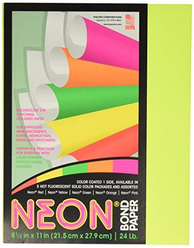 Pacon Neon Bond Paper (PAC104316)