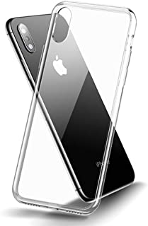 Cafele Tempered Glass Phone Case for iPhone Xs 5.8
