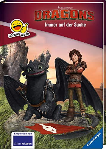 Dreamworks Dragons: Immer auf der Suche (Erstleser- leichter Lesen)