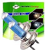 Akhan H755W - Set di lampadine per fari, effetto Xeno H7 12V 55W, ultra bianchi