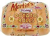 Martin's Famous Pastry Potato Long Rolls- 15 oz. Bag (2 Bags)