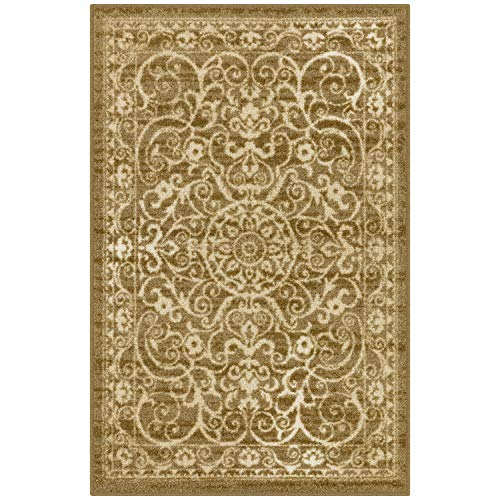 Maples Rugs Pelham Kitchen Rugs and Non-Skid Accent Area Carpet
